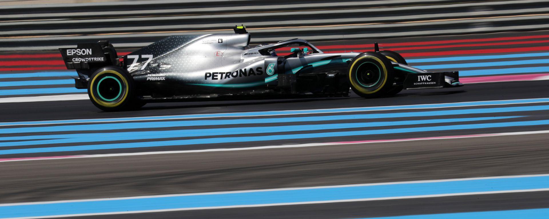 F1 GP Francia 2019 – PL3: Bottas sfiora il record di Lewis, le Ferrari a 4 decimi