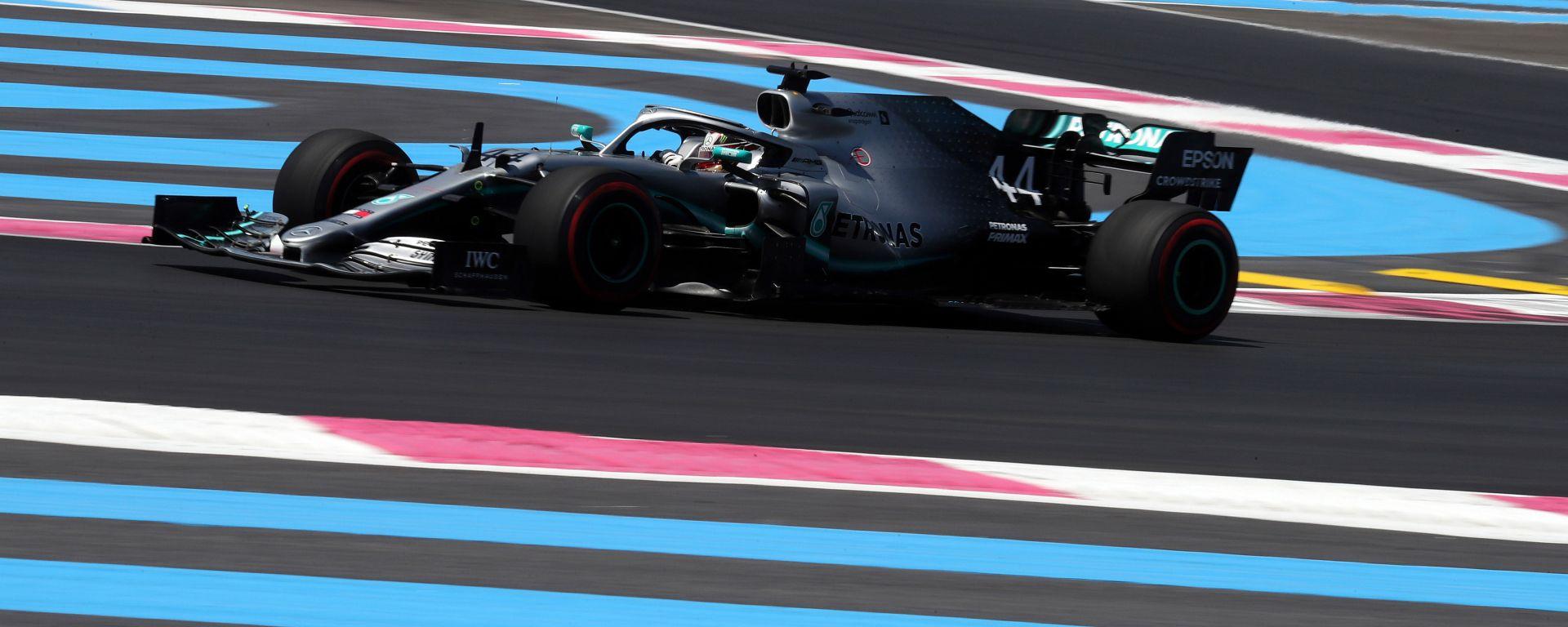 GP Francia 2019 – Qualifiche: Hamilton spaziale, Vettel solo 7°