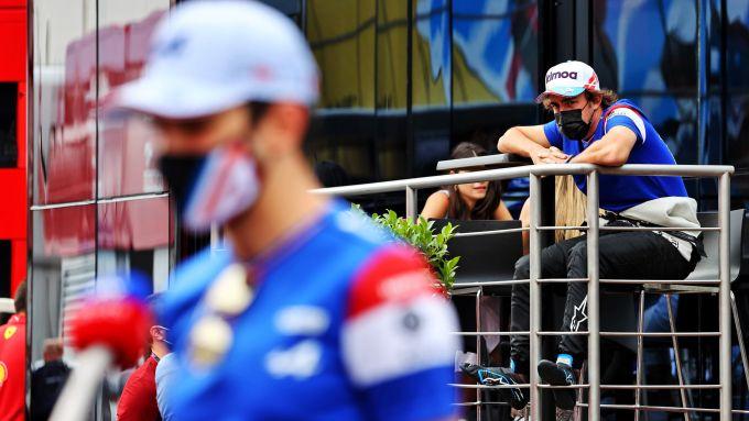 F1, GP Francia: lo sguardo carico di odio dello Sciamano di Oviedo