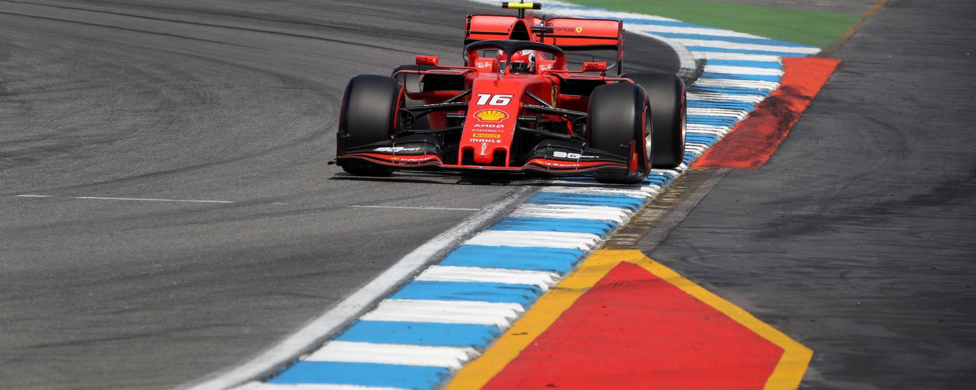 F1 GP Germania 2019, Charles Leclerc è stato il più rapido al termine delle PL2