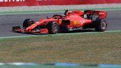 F1 GP Germania 2019, Charles Leclerc (Ferrari) in pista a Hockenheim