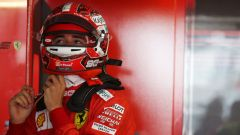 F1 GP Germania 2019, Charles Leclerc si prepara per scendere in pista