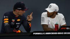 F1 GP Germania 2019, Hockenheim: Max Verstappen (Red Bull), Lewis Hamilton (Mercedes)