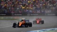 F1 GP Germania 2019, Lando Norris (McLaren) e Sebastian Vettel (Ferrari)