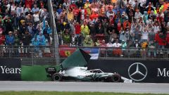 F1 GP Germania 2019, l'errore che è costato la vittoria a Lewis Hamilton (Mercedes)