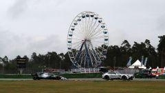 F1 GP Germania 2019, Lewis Hamilton (Mercedes) alle spalle della Safety Car