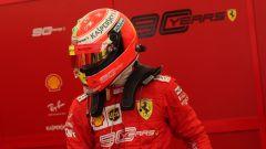 F1 GP Germania 2019, Mick Schumacher al box Ferrari prima di salire sulla F2004 di papà Michael - 1