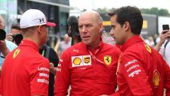 F1 GP Germania 2019, Mick Schumacher al box Ferrari prima di salire sulla F2004 di papà Michael - 6