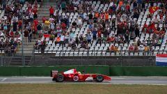 F1 GP Germania 2019, Mick Schumacher alla guida della Ferrari F2004 di papà Michael - 1