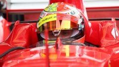 F1 GP Germania 2019, Mick Schumacher alla guida della Ferrari F2004 di papà Michael - 10