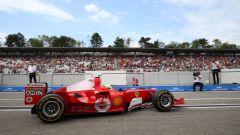 F1 GP Germania 2019, Mick Schumacher alla guida della Ferrari F2004 di papà Michael - 11