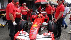 F1 GP Germania 2019, Mick Schumacher alla guida della Ferrari F2004 di papà Michael - 12