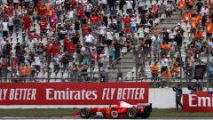 F1 GP Germania 2019, Mick Schumacher alla guida della Ferrari F2004 di papà Michael - 2