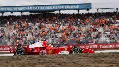 F1 GP Germania 2019, Mick Schumacher alla guida della Ferrari F2004 di papà Michael - 3