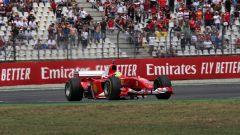 F1 GP Germania 2019, Mick Schumacher alla guida della Ferrari F2004 di papà Michael - 4