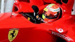 F1 GP Germania 2019, Mick Schumacher alla guida della Ferrari F2004 di papà Michael - 7
