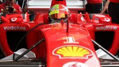 F1 GP Germania 2019, Mick Schumacher alla guida della Ferrari F2004 di papà Michael - 9