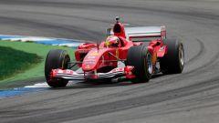 F1 GP Germania 2019, Mick Schumacher alla guida della Ferrari F2004 di papà Michael