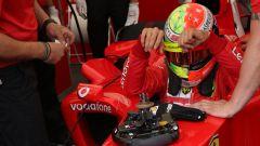 F1 GP Germania 2019, Mick Schumacher sale sulla Ferrari F2004 di papà Michael - 2