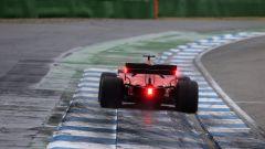 F1 GP Germania 2019, Sebastian Vettel (Ferrari) in pista a Hockenheim