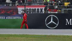 F1 GP Germania 2019, tutta la delusione di Charles Leclerc (Ferrari) dopo l'incidente in curva-16