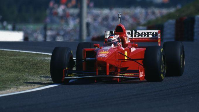 F1 GP Giappone 1997, Suzuka: Michael Schumacher (Ferrari F310B)