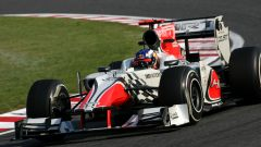 F1 GP Giappone 2011, Suzuka: Daniel Ricciardo alla guida della HRT F1