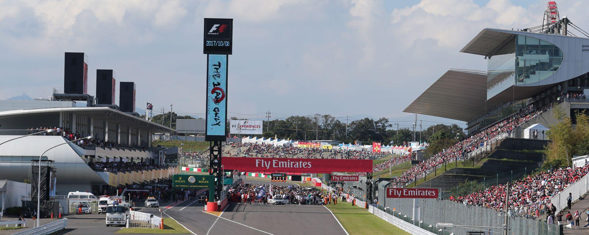 F1 GP Giappone 2017, Suzuka, partenza