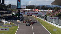 F1 GP Giappone 2018, Suzuka: la partenza della gara