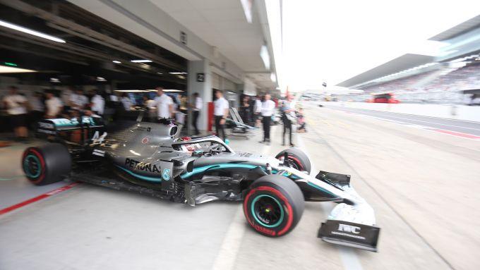 F1, GP Giappone 2019: Lewis Hamilton (Mercedes)