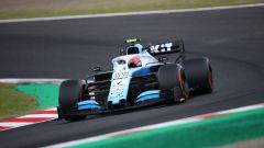 F1, GP Giappone 2019: Robert Kubica (Williams) in azione sul circuito di Suzuka