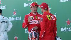 F1 GP Giappone 2019, Suzuka, Charles Leclerc e Sebastian Vettel (Ferrari)