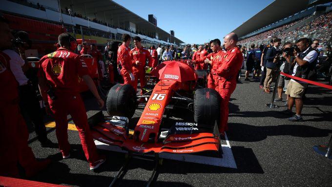 F1 GP Giappone 2019, Suzuka: Charles Leclerc (Ferrari)