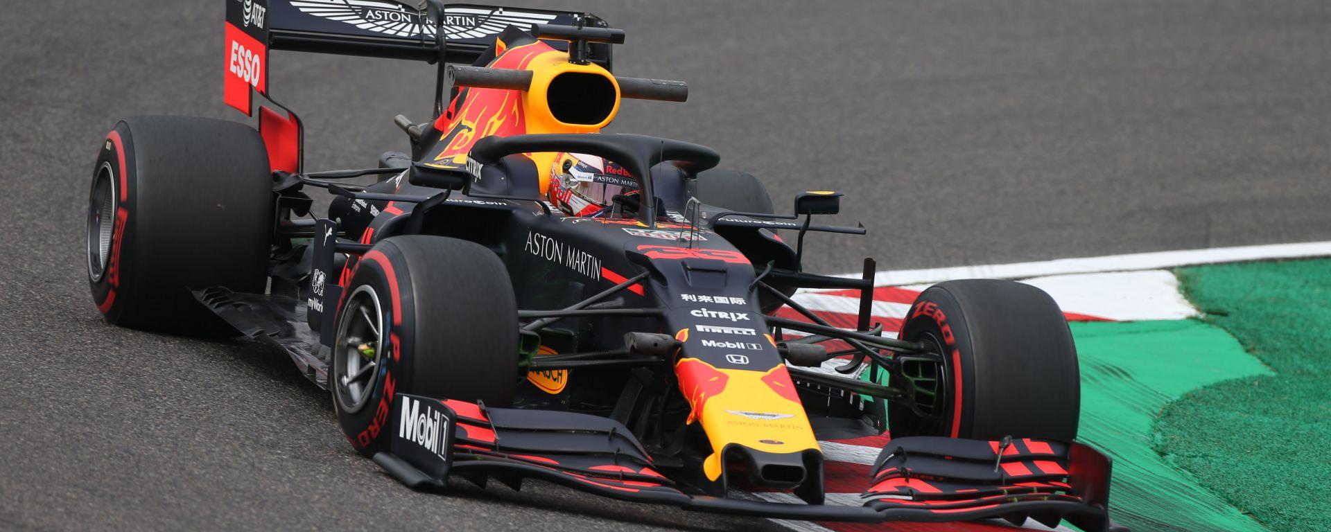 F1 GP Giappone 2019, Suzuka: Max Verstappen (Red Bull)