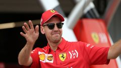 F1 GP Giappone 2019, Suzuka, Sebastian Vettel (Ferrari)