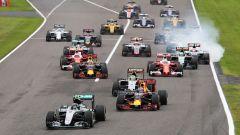 F1 GP Giappone, la partenza dell'edizione 2016