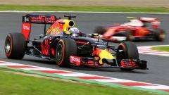 F1 GP Giappone, Ricciardo contro Raikkonen