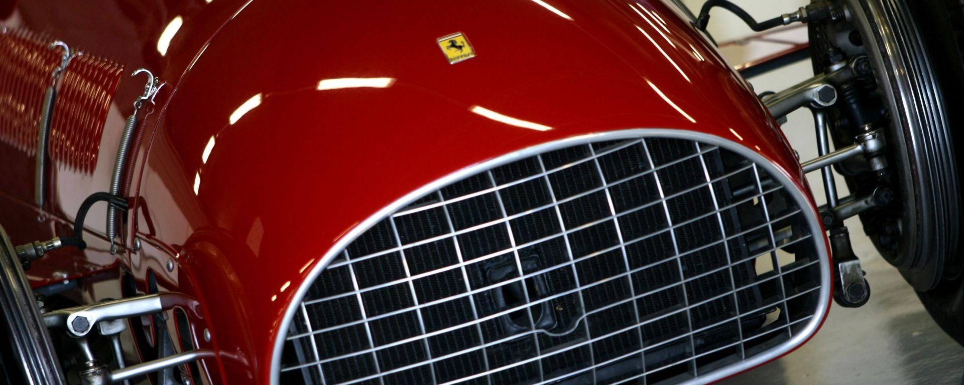 F1 GP Gran Bretagna 2011, Silverstone: la Ferrari 375 del 1950-1951