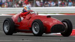 F1 GP Gran Bretagna 2011, Silverstone: la Ferrari 375 guidata da Fernando Alonso (Scuderia Ferrari)