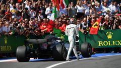 F1 GP Gran Bretagna 2018, Lewis Hamilton lascia deluso la sua Mercedes