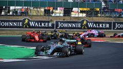 F1 GP Gran Bretagna 2018, Lewis Hamilton nelle fasi finali