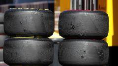 F1 GP Gran Bretagna 2019, gomme usate dopo il venerdì di prove libere