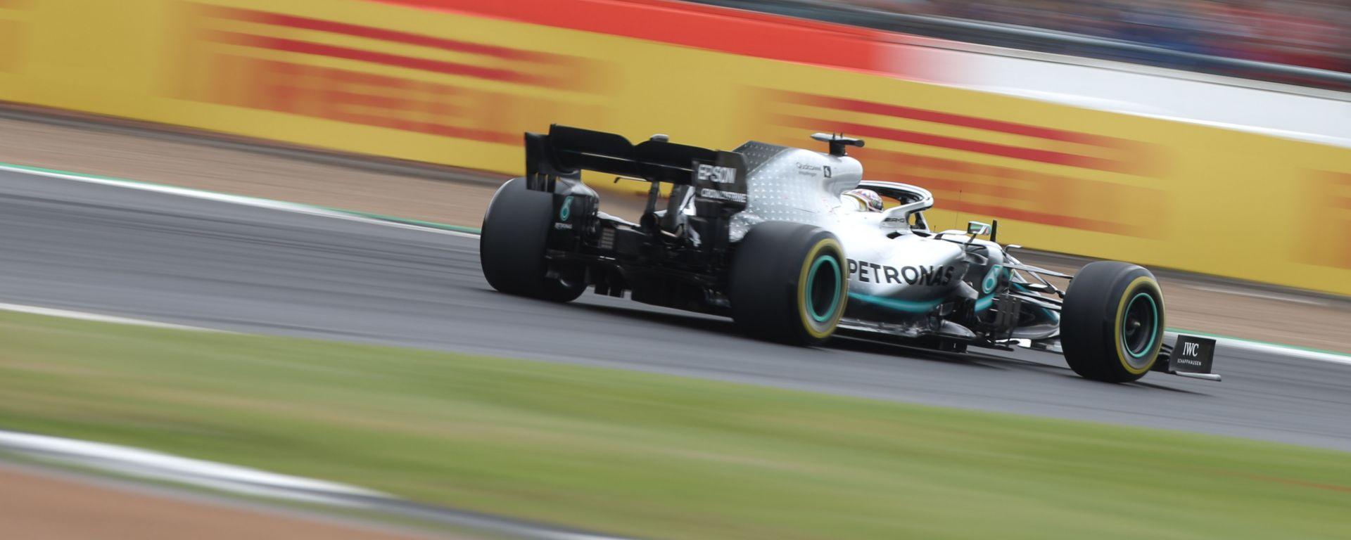 F1 GP Gran Bretagna 2019, Lewis Hamilton (Mercedes) trionfa a Silverstone