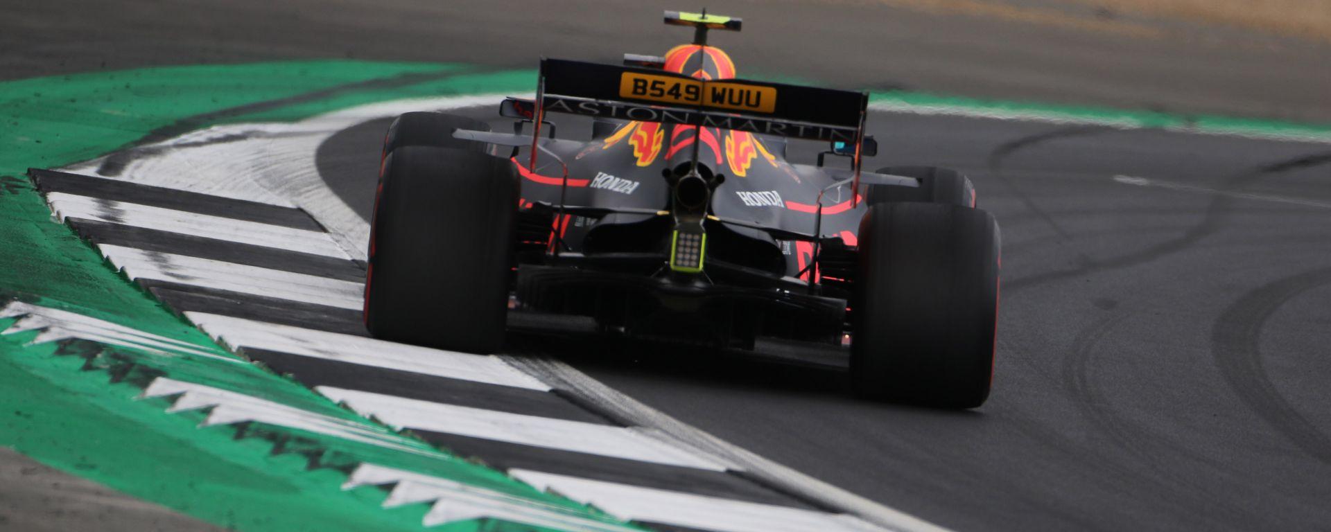 F1 GP Gran Bretagna 2019, Pierre Gasly è il più veloce al termine delle PL1