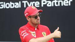 F1 GP Gran Bretagna 2019, Sebastian Vettel
