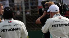 F1 GP Gran Bretagna 2019, Silverstone: Valtteri Bottas e Lewis Hamilton