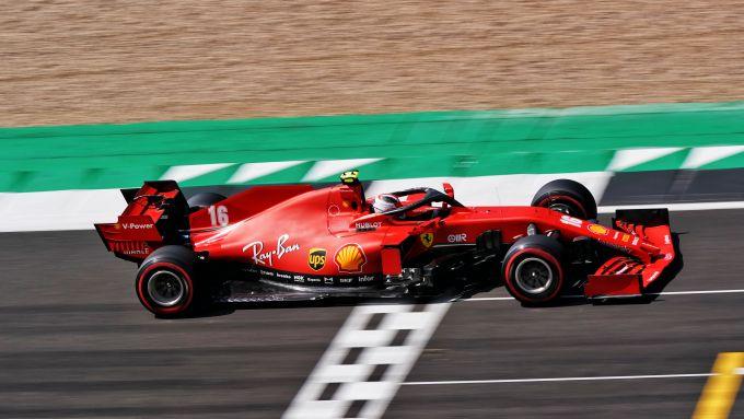 F1, GP Gran Bretagna 2020: Charles Leclerc (Ferrari)