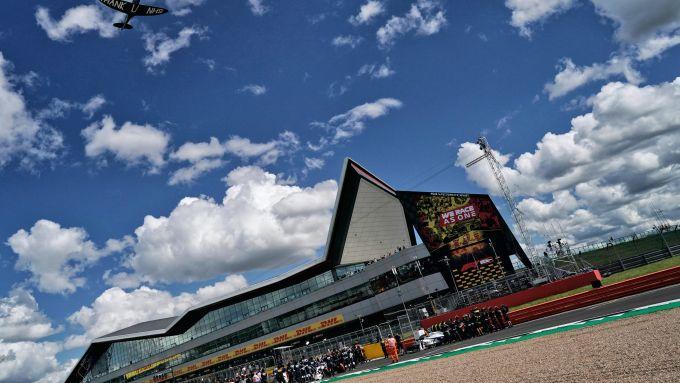 F1 GP Gran Bretagna 2020, Silverstone: Atmosfera dal circuito