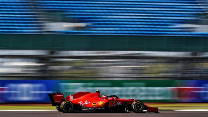 F1 GP Gran Bretagna 2020, Silverstone: Charles Leclerc (Scuderia Ferrari)