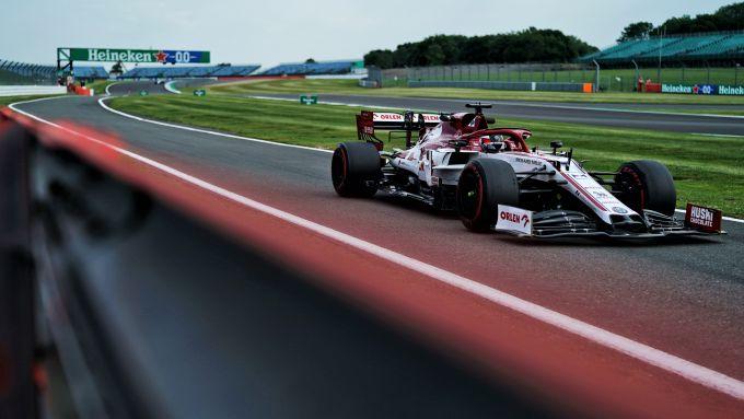 F1 GP Gran Bretagna 2020, Silverstone: Kimi Raikkonen (Alfa Romeo Racing)